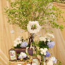 キャンドルツリー