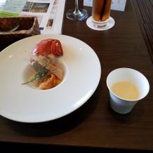オマール海老とスープ