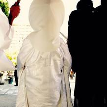 綿帽子白無垢