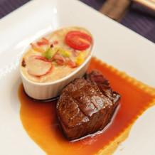 肉b・牛ステーキ