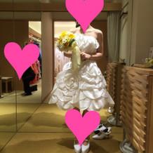 ロケーション用ドレス