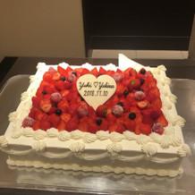 ケーキはスタンダードだが美味しかった!