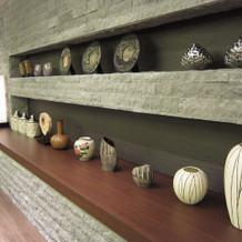 和式場の飾り棚