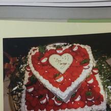 ケーキなどのオプションもありました!