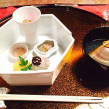 和洋中から選べる料理の中の和食