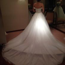 ドレスがとても可愛いものばかりでした。