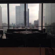 レストランからの景色が良かった。