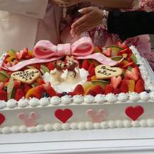 世界に一つだけの、ウェディングケーキ