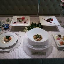 レストランウェディングのコース料理2