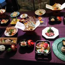 和食のコース料理1