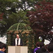 ガーデン挙式(^^)