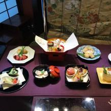 和食のコース2