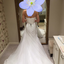 マーメイドのウェディングドレス