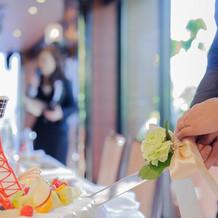 東京タワーのウエディングケーキです