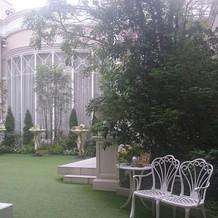 ガーデンの一部