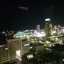 最上階の夜景
