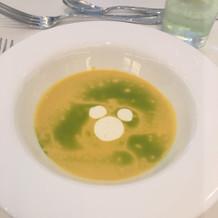 スープにミッキー
