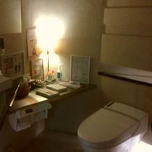 トイレの中です。可愛いです。