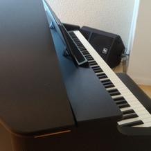 チャペルにピアノが置かれていました