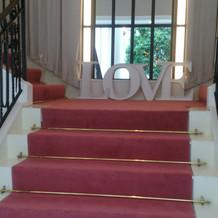 階段の最後
