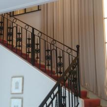 階段がかわいかったです