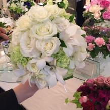 ウエディングフェア装花(2)
