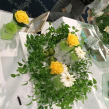 ウエディングフェア装花(3)