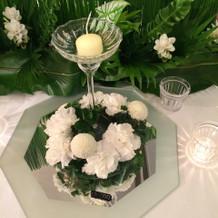 ウエディングフェア装花(1)