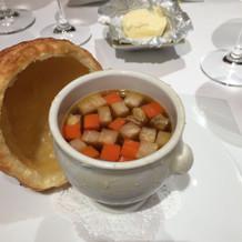 スープの中身