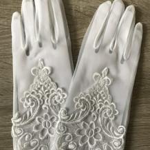 1450円のショート手袋。
