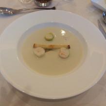 珍しいセロリのスープ