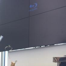 テレビを4つ繋げたスクリーン