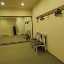 ゲスト着替え室です
