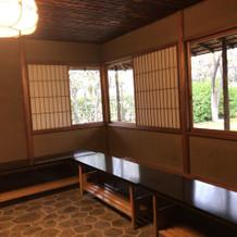 茶室(待合室)