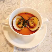 ハマグリの茶碗蒸し