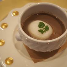 フォアグラフランのスープ