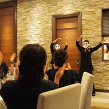 プランナーさんによるダンス披露