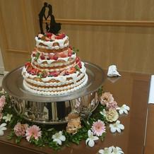 とっても可愛いケーキでした!