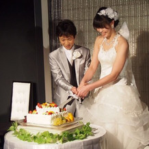 ケーキはみんなが好きな味