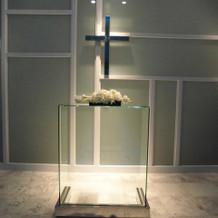 チャペル 祭壇