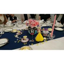 美女と野獣テーブル
