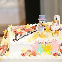 ウェディングケーキは新郎新婦の希望通り!