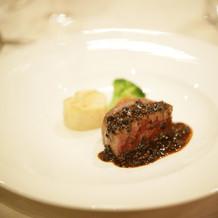 国産牛フィレ肉のロティール