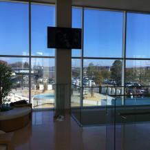 控室からの眺め