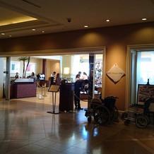 オリエンタルホテル内のレストラン