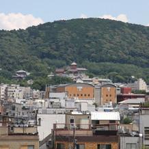 チャペルからの眺め(東山)
