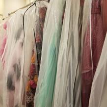 他にも色々なドレスがありました。