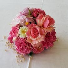 親族控え室のお花です!!