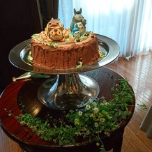 ふたりらしい可愛いケーキに感動!!