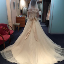 ブランドのドレスもありました